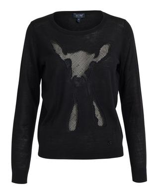 Pullover im Wollmix ARMANI JEANS