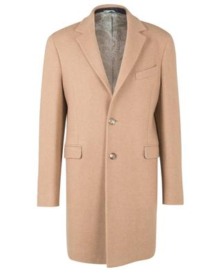 Camel wool mid-length coat ETRO