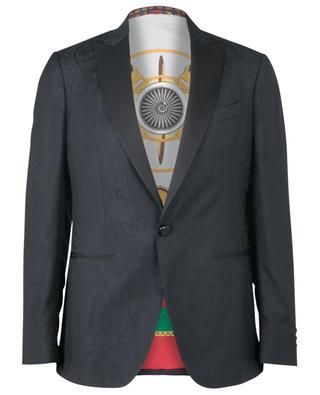 Paisley textured wool blazer ETRO