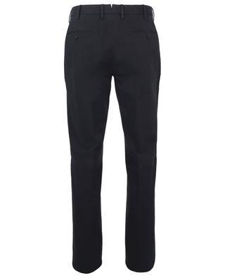 Regular fit cotton and lyocell twill chino trousers ERMENEGILDO ZEGNA