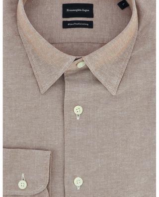 #UseTheExisting recycled cotton Oxford shirt ERMENEGILDO ZEGNA
