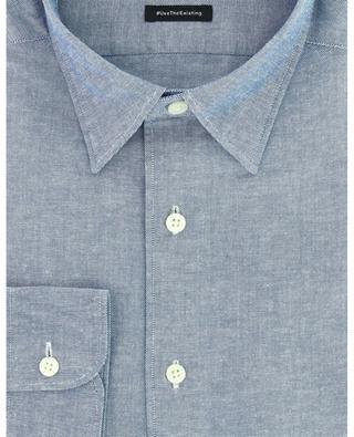 Oxford-Hemd aus recycelter Baumwolle #UseTheExisting ERMENEGILDO ZEGNA
