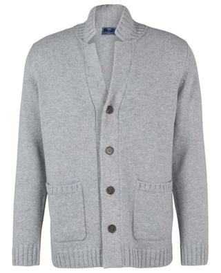 Thick button-down cashmere cardigan FEDELI