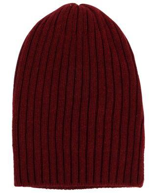 Mütze aus geripptem Kaschmir Web FEDELI