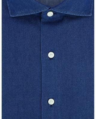 Hemd aus leichtem Denim Napoli Fit Eduardo FINAMORE