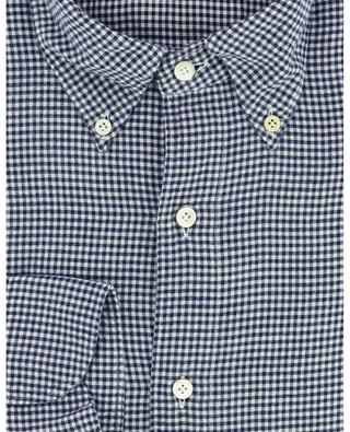 Flanellhemd mit Vichykaros Gaeta Fit Leonardo FINAMORE