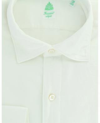Luigi long-sleeved cotton shirt FINAMORE