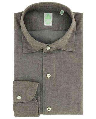Langärmliges Hemd aus Baumwolle Luigi FINAMORE