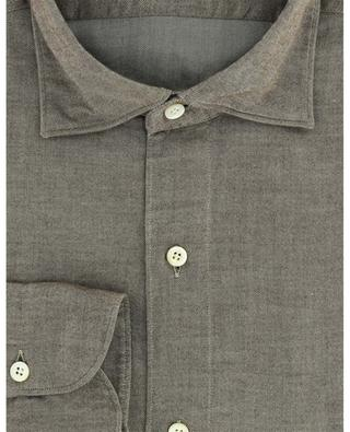 Chemise manches longues en coton Luigi FINAMORE