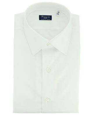 Hemd aus Baumwoll-Twill Napoli Fit Rodi FINAMORE