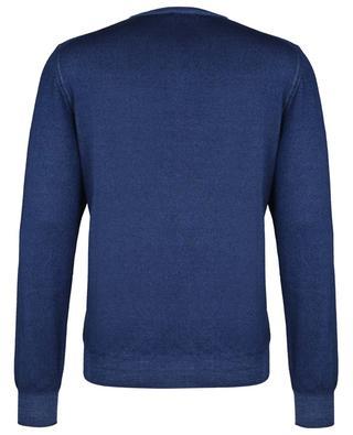 Thin round neck virgin wool jumper GRAN SASSO