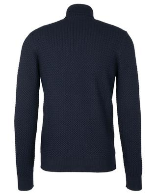Virgin wool turtleneck cable knit jumper GRAN SASSO