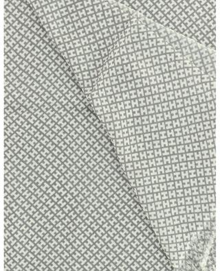 Écharpe monogrammée en cachemire et soie Bademedium-BCS HEMISPHERE