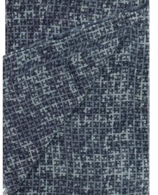 Iben-BCS monogram and camouflage adorned scarf HEMISPHERE