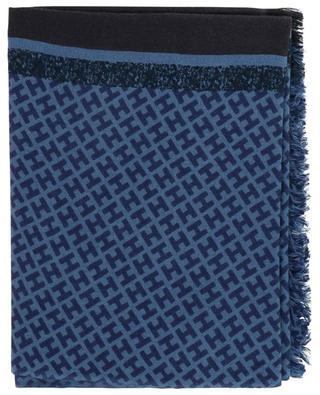 Tagbimedium-BCS monogrammed skarf with stripes HEMISPHERE