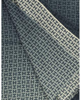 Radeombre BCS colour gradient monogrammed scarf HEMISPHERE