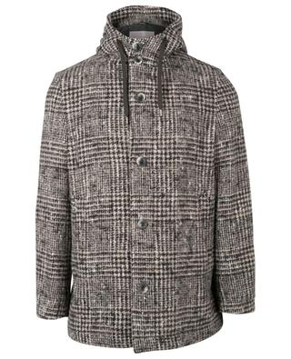 Wool and alpaca blend hooded coat HERNO