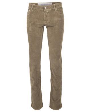 Pantalon en velours côtelé J622 Slim Comfort JACOB COHEN