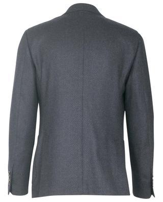Single-breasted wool blazer LARDINI