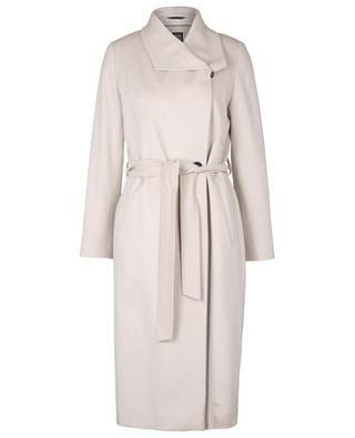 Double-breasted cashmere coat CINZIA ROCCA