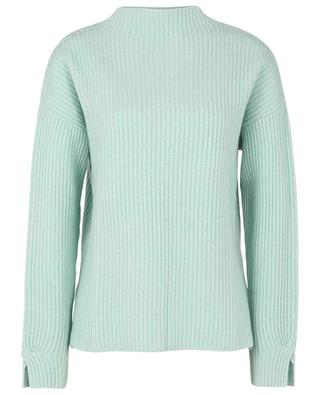 Standup collar cashmere knit jumper FTC CASHMERE