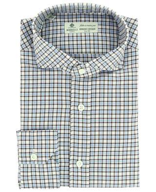 Chemise à carreaux bicolores Felice LUIGI BORRELLI