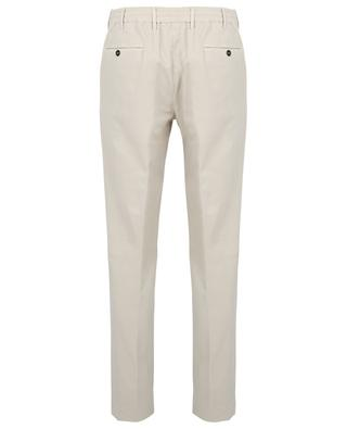 Slim fit cotton and cashmere trousers PT TORINO