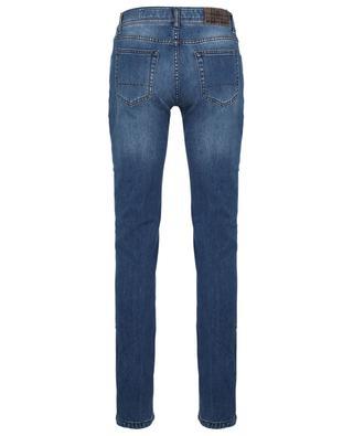 Tokyo faded slim fit jeans in Luxury Cashmere Denim RICHARD J. BROWN