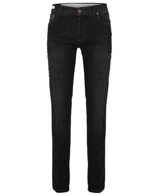 Tokyo Luxury Cashmere Denim faded black slim fit jeans RICHARD J. BROWN