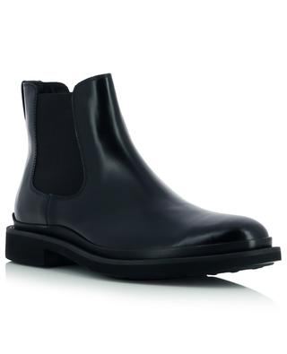 Progetto Urban brushed leather Chelsea boots TOD'S