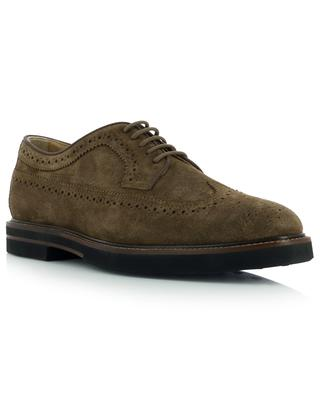 Casual perforated suede lace-up shoes TOD'S