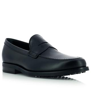 Formal loafers in brushed smooth leather TOD'S
