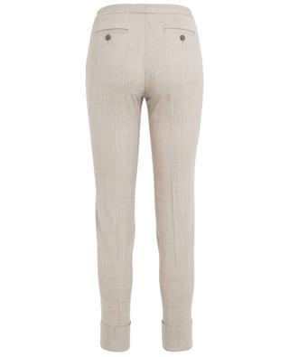 Pantalon large en laine vierge FABIANA FILIPPI