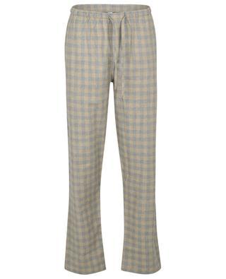 Pyjamahose aus Baumwoll- und Wollflanell ZIMMERLI