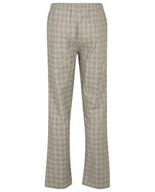 Pantalon de pyjama en flanelle, mélange de coton et de laine ZIMMERLI