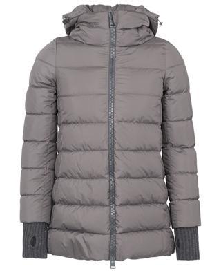 Polar Tech mid-length down jacket HERNO