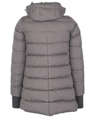 Polar Tech mid-length down jacket HERNO