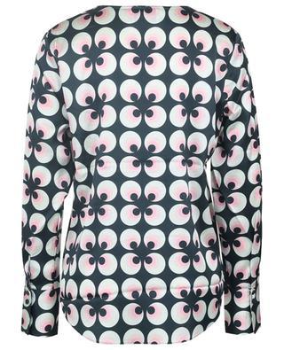 Graphic silk crepe blouse HERZEN'S ANGELEHEIT