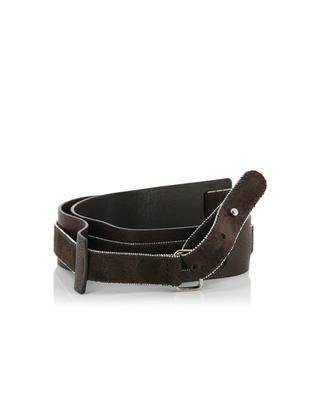 Leather and suede belt FABIANA FILIPPI