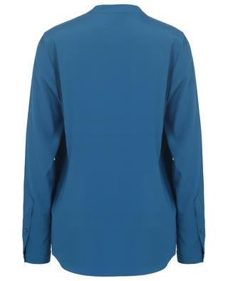 Monochrome silk crepe blouse HERZEN'S ANGELEHEIT