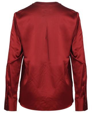 Monochrome silk satin blouse HERZEN'S ANGELEHEIT