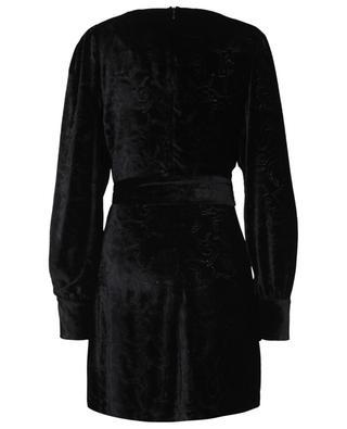 Textured velvet mini dress LE SARTE PETTEGOLE