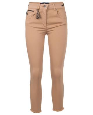 Cinq Cut cotton-blend slim jeans PAMELA HENSON