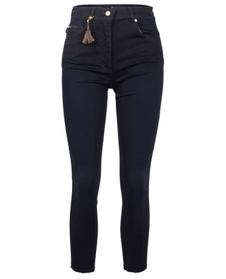 Cinq Cut cotton-viscose blend jeans PAMELA HENSON