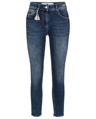 Cinq Cut cotton-blend skinny jeans PAMELA HENSON