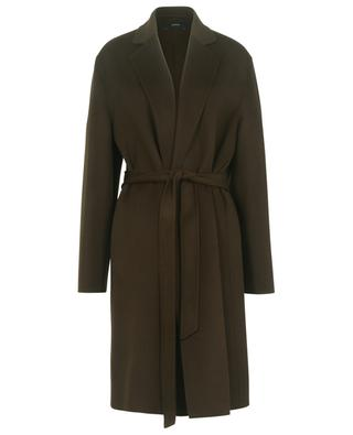 Cenda wool and cashmere belted coat JOSEPH
