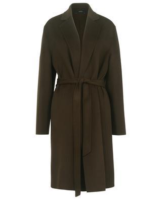 Manteau en laine et cachemire avec ceinture Cenda JOSEPH