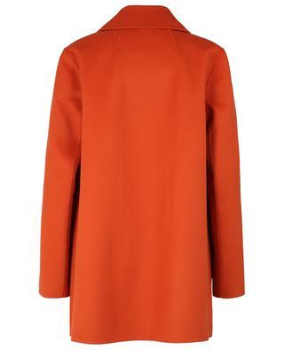 Offener doppelreihiger Mantel aus Wolle und Kaschmir Overlay THEORY