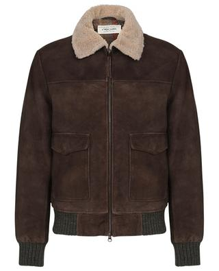 Rusty lined suede jacket ANDREA D'AMICO