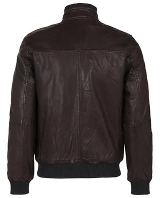 New Freddie lined leather jacket ANDREA D'AMICO